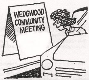 meeting sign board