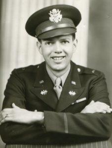 Mylo Lindgren in uniform