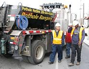 City of Seattle Pothole Rangers