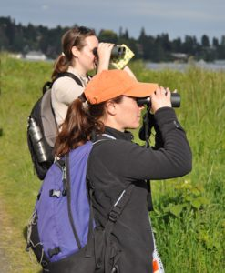 birders in Seattle