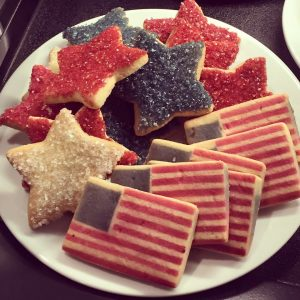 Fourth of July cookies at Seattle Sunshine Coffee, 5508 35th Ave NE.