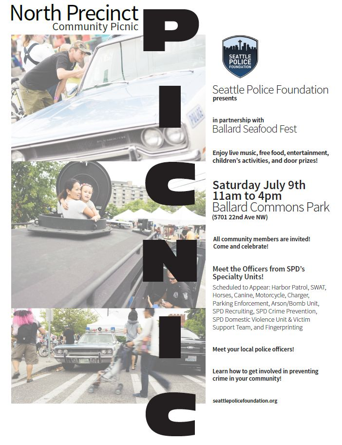 North Precinct Picnic 2016