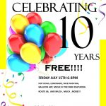 Northgate CC tenth birthday party