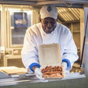 Blackstar Kebab food truck operator Priestwick Sackeyfio