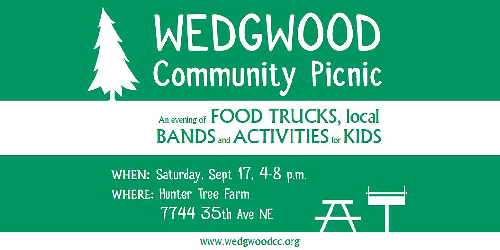 Wedgwood Community Picnic.September 17 2016