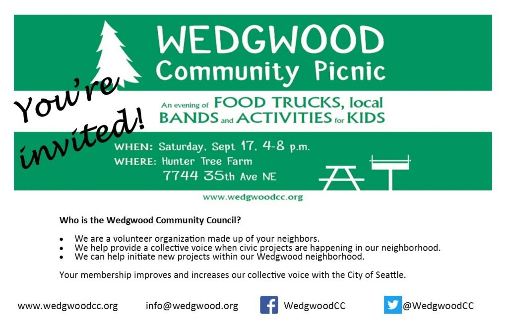 WCC picnic invitation notice