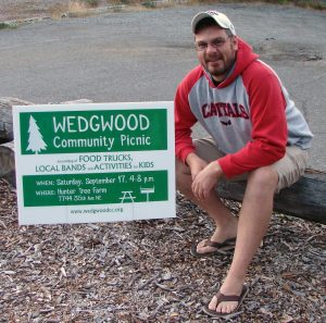 Watch out for Wedgwood Community activists planting signs everywhere