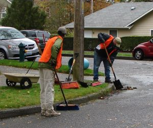 Rake those leaves and clear those street drains!