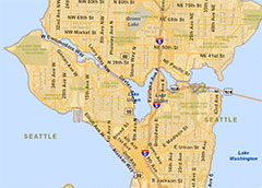 Seattles Water and Sewer Map Wedgwood Community Council